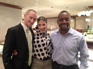 Sean, Marvin and I!!!