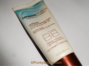 Untinted Mineral BB Cream with Zinc SPF 20!