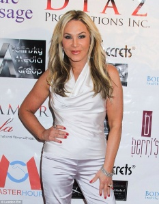 Adrienne Maloof, Photo courtesy of the London Times. Adrienne supports Domestic Violence Awareness and she was absolutely so very lovely and kind! She also just had a birthday, so Happy Birthday my fellow Virgo!