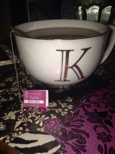 My K Teacup! My friend gave me this as a gift!
