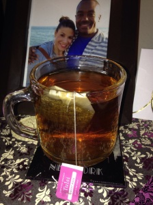 My favorite Organic Tulsi Rose Tea!!! This is too die for!
